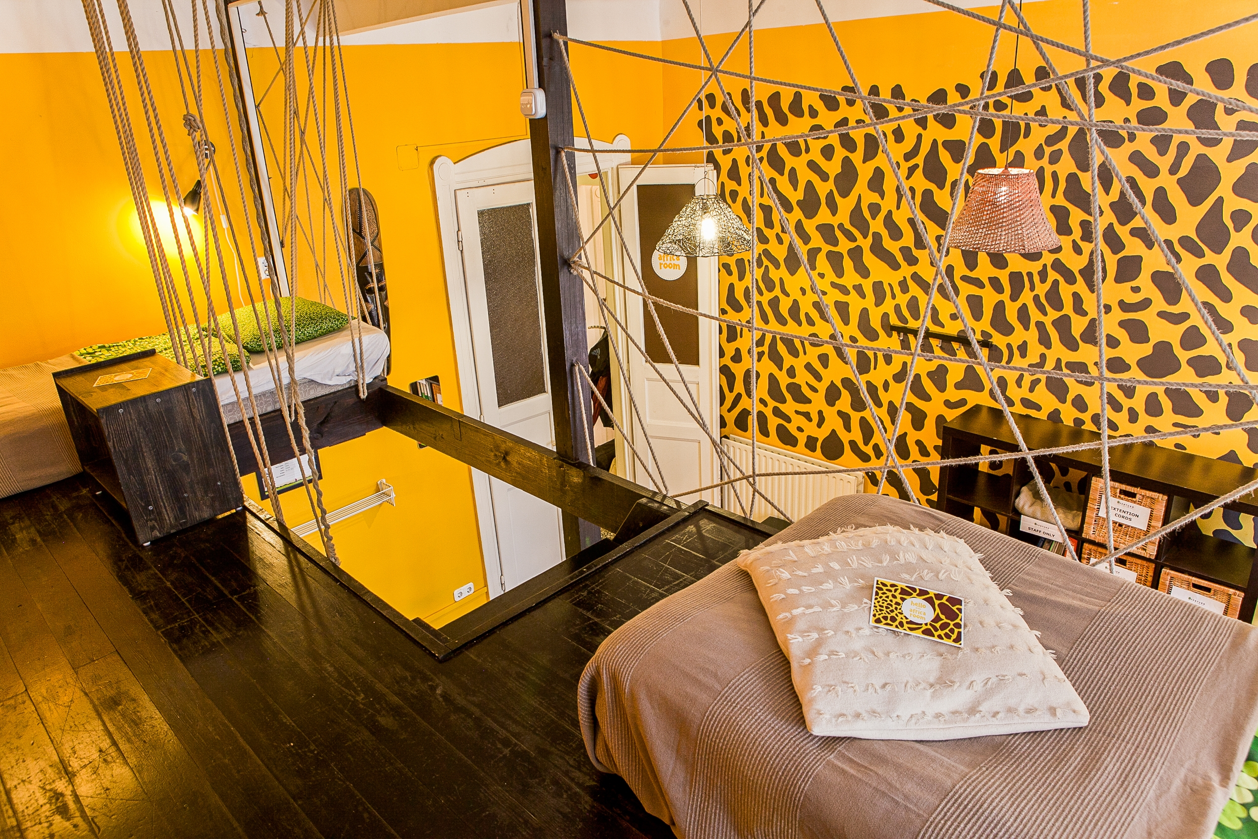 aventura boutique hostel africa room